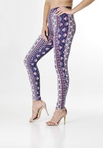 BAYSYX - Ultra Comfortable Fashion Print Women's Leggings | Yummy Soft Brushed D - £13.69 GBP