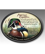 American Expedition Wood Duck Wildlife Magnet Fridge Car Men's Father Gift - $6.23
