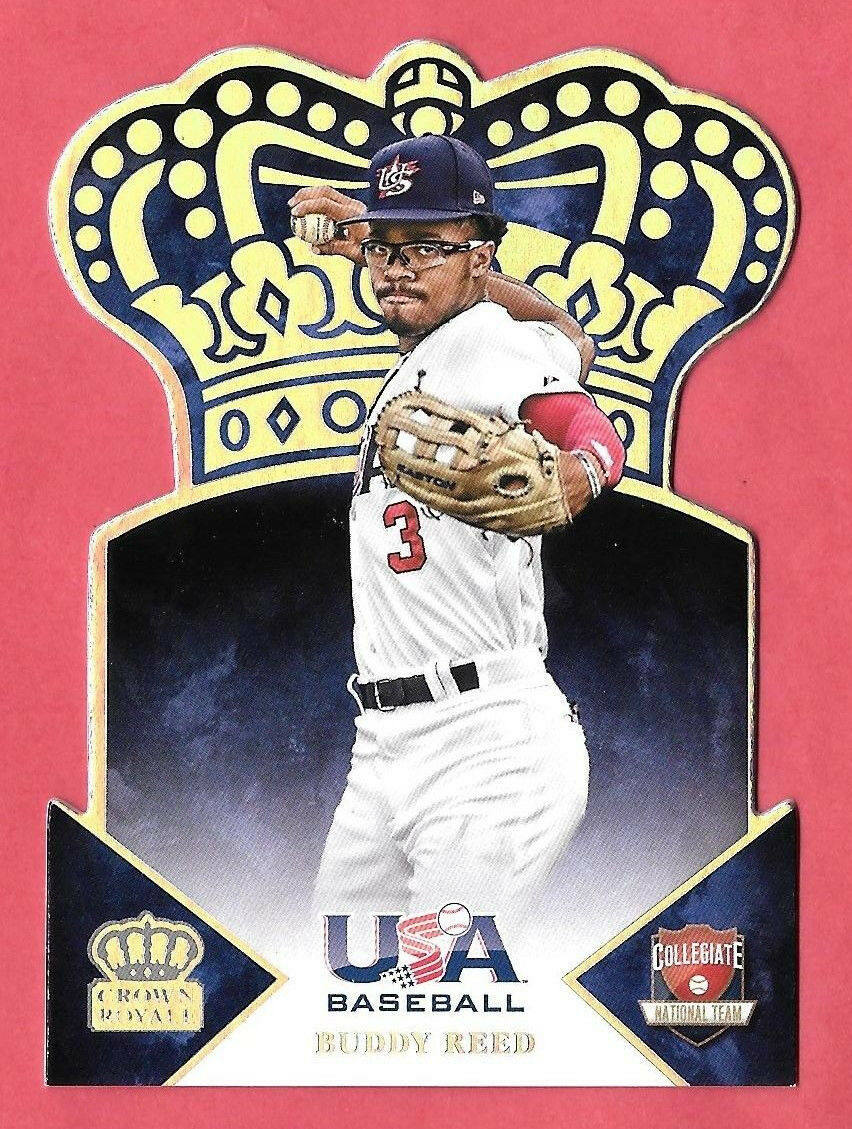 Primary image for 2015 Buddy Reed Panini USA Crown Royale Rookie Silver /99 - San Diego Padres