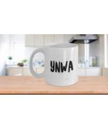 YNWA Mug You Never Walk Alone Liverpool Brush Speckle FC Decal 11 oz - $14.20