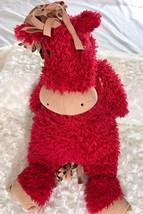 "Jellycat Jelly Cat Plush Red Giraffe 17"" Tall Stuffed Animal Toy - $27.80"
