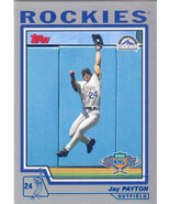 Jay Payton ~ 2004 Topps Opening Day #12 ~ Rockies - $0.20
