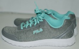 Fila 5SR21114068 Lite Spring Heather Womens Athletic Shoe Blue Seven and a Half image 2