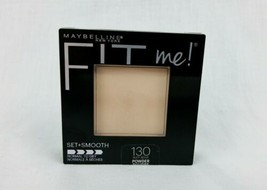 Maybelline Fit Me Pressed Powder 130 Buff Beige Normal To Dry Set + Smooth - $4.95
