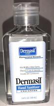 Dermasil Hand Sanitizer Unscented 1Ea 3.4 Oz Blt-SHIPS SAME BUSINESS DAY - $4.83