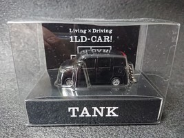 Toyota Tank Light Keychain Black Pull Back Mini Car Japan Not Sold In Stores - $22.98