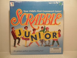 SCRABBLE JUNIOR Crossword Game - 1999 - Your Child's First Crossword Game! - $28.60