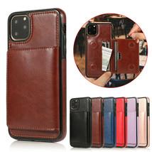 k68) Leather wallet FLIP MAGNETIC BACK cover Case for Apple iPhone models - $49.05