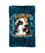 Fleece Blankets New Authentic Def Leppard Hysteria Cover Fleece Blanket - $46.49
