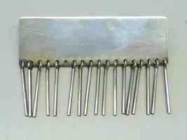 Vintage Paul Bang Fringe 925S Sterling Silver Danish Modern Brooch Pin D... - $95.00
