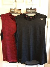 Men's Muscle Athletic FILA Sport Sports Provent TANK Shirt NEW MEDIUM  L... - $15.99