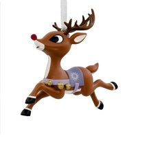 2018 Hallmark T.E.A.M. Rudolph Reindeer Games Christmas Tree Ornament - $10.50