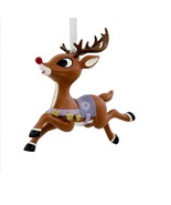 2018 Hallmark T.E.A.M. Rudolph Reindeer Games Christmas Tree Ornament - $10.50