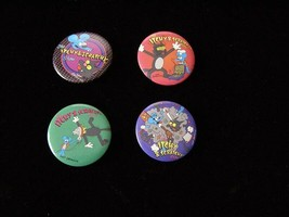 The Simpsons Itchy & Scratchy Button Lot - $16.99