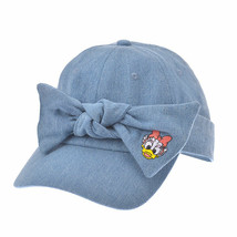 Disney Store Japan Daisy Denim Hat Ribbon Cap Free Size 3WAY - $72.27
