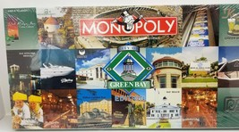 City of Green Bay Monopoly Factory Sealed NEW $79.98 Bradley - $33.26