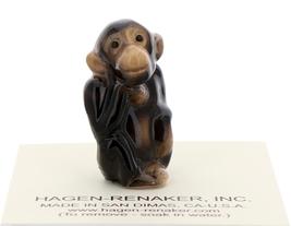 Hagen-Renaker Miniature Ceramic Figurine Baby Monkey