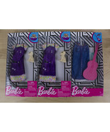 NEW Barbie Doll Clothes Lot of 3 Fashion Career Outfits w/ Accessories 2019 - $9.99
