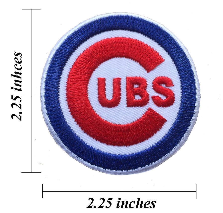Chicago Cubs Logo Size 225 Embroidered And 50 Similar Items