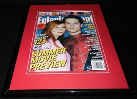 Spiderman 2 2004 Framed 11x14 ORIGINAL 2004 Entertainment Weekly Cover K... - $32.36