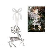 Prancing Reindeer Ornament: Fill Your Holiday With Good Cheer - By Ganz - $9.95