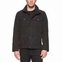 Men's Levi's Full Zip Jacket , Black, Size L - $39.59