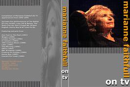 MARIANNE FAITHFULL - ON TV DVD - $23.50