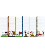 Peanuts Worldwide Peanuts Characters Lined Magnetic Notepads Shopping Li... - $15.68