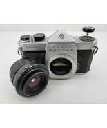 Asahi Pentax Spotmatic SP Film Camera And Takumar - $46.71