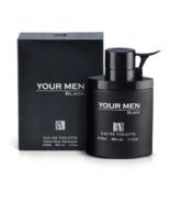 Perfume BN YOUR MEN BLACK Eau de Toilette 100ml Premium Quality 3.3 oz F16 - £30.83 GBP