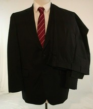 Jos.A. Banks Mens Suit 42R Navy Wool Travelers Collection Pants 38 x 30.5 - $59.35