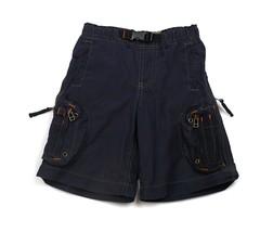 GAP Kids Navy Blue Boys Shorts lot of Pockets Zippers adjust waist  Cargo 5 - $8.90