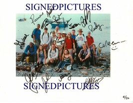 An item in the Entertainment Memorabilia category: SURVIVOR ISLAND CAST SIGNED AUTOGRAPHED 8x10 RP PHOTO 16 FIRST CASTAWAYS