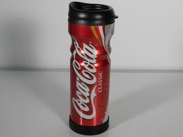 Coca Cola Classic 12oz Aluminum Coffee Cup Tumbler Soda Pop Travel Bever... - $12.62