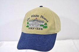 The White House Golf Club Tan/Denim Baseball Cap Buckle Strap - $24.99