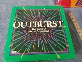 Vintage Outburst Board Game 100% Complete The Game of Verbal Explosions EUC - £7.83 GBP