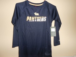 Pitt Panthers Soft 100% Polyester Youth SM Tri-Colored Tee by Champion -NWT--#25 - $9.75