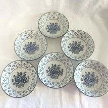 7 Bowls Country Blue by Midwinter Stonehenge Fruit Basket WR Wedgewood 6... - $44.54