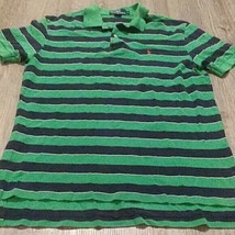 RALPH LAUREN POLO  shirt mens large black and green s/s - $14.85