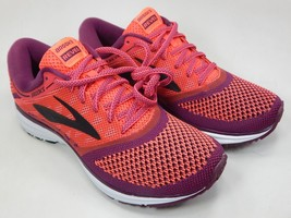 Brooks Revel Size US 6.5 M (B) EU 37.5 Women's Running Shoes Pink 1202491B637