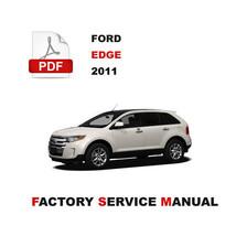 Ford Edge 2011 Engine Brake Suspension Transmission Service Repair Shop Manual - $14.95