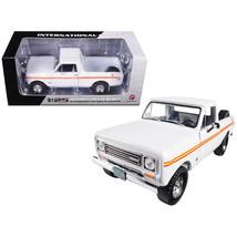1979 International Scout Terra Pickup Truck White / Orange Spear 1/25 Di... - $63.41