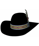 Bullhide Premium Wool  Feather Dance Cowboy Hat Deep Crown Indian Feathe... - $70.00