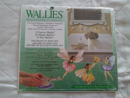 BRAND NEW Wallies Wallpaper Cutouts of 25 Fairies - Sealed Package - $7.91