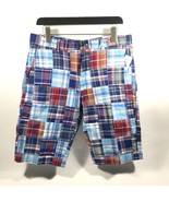 BROOKS BROTHERS MEN'S MADRAS PATCHWORK MULTI COLORED CASUAL SHORTS.SZ.32... - $74.68