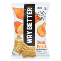 Way Better Snacks Tortilla Chips - Sweet Potato - Case of 12 - 1 oz. - $18.35