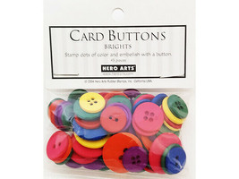 Dress It Up Hero Arts Buttons, Brights