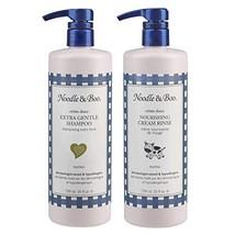 Noodle & Boo Extra Gentle Baby Shampoo and Nourishing Cream Rinse Bundle - $71.72