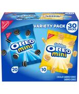 OREO Mini Chocolate Sandwich Cookies Snack Packs, 30 - 1.5 oz Packs - $34.60