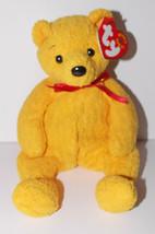 Ty Beanie Baby Poopsie Plush 6in Teddy Bear Stuffed Animal Retired Tag 2001 - $3.99